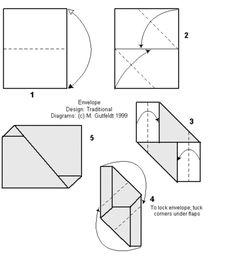 44 meilleures images du tableau enveloppe origami. Black Bedroom Furniture Sets. Home Design Ideas