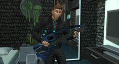 C1-8ER Guitar (functional)| HexTotem91 auf Patreon Sims 4, Die Sims, Swatch, Guitar, Fashion, Moda, Fashion Styles, Fashion Illustrations, Guitars