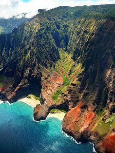 honopu valley, kauai