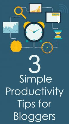 The 4th quarter tends to be the busiest time for online influencers. We're wrapping up our year, gearing up for holiday traffic, and reviewing what worked (and what didn't) within our blog business. This is also the time of year when we get overwhelmed and make poor productivity decisions. Here are three simple productivity tips for bloggers. Written by @4hatsandfrugal
