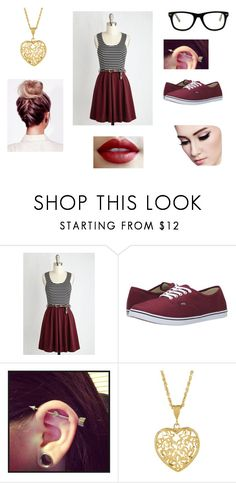 """""""TW R"""" by sosic100 ❤ liked on Polyvore featuring Vans and Muse"""