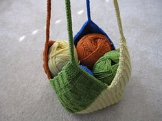 Ravelry: Windmill Bag pattern by Danielle LaFramboise