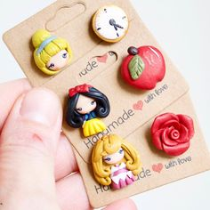 "Alessia Lo on Instagram: ""Other studs on my shop , ready for shipping ❤️ #polymerclay #handmade #fimo #polymerclayjewelry #polymerclaycharms #polymerclayart…"" Easy Polymer Clay, Polymer Clay Disney, Polymer Clay Halloween, Polymer Clay Figures, Polymer Clay Charms, Polymer Clay Jewelry, Clay Projects, Clay Crafts, Clay Art For Kids"