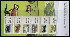 GB 2012 Post Go Wildlife Cattle Farm Animals ATM 1st Class P Office Pack MNH | eBay
