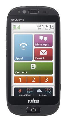 Un Smartphone pour Seniors accessible signé Fujitsu