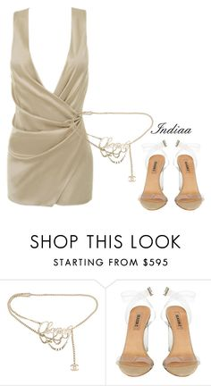 """""""Untitled #3684"""" by teastylef ❤ liked on Polyvore featuring Angelo and Chanel"""