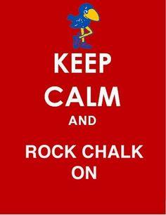 Love this! Go Jayhawks!
