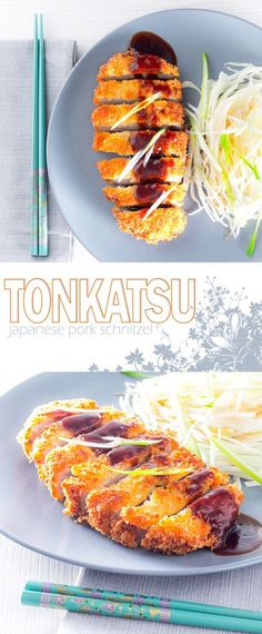Tonkatsu may have an exotic name but it will be a familiar concept to most people, it is essentially a breaded pork schnitzel served with cabbage salad.