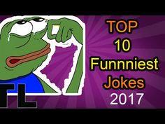 Top 10 Funniest Jokes 2017 with BONUSES - YouTube