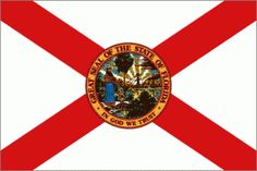 Introduction to Florida State Symbols Us States Flags, U.s. States, United States, Florida State Flag, American Flag Wallpaper, More Than Love, Genuine Love, Florida Style, Some Fun