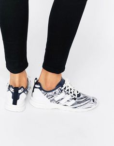 Image 1 of adidas ZX Flux Smooth Trainers