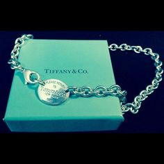 Tiffany & Co. 100% Authentic Sterling Necklace