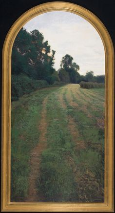 Brad-Aldridge The-End-of-the-Day Oil on Panel 77 41 inches