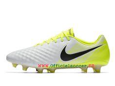 outlet store b73bf 239d1 Football Nike Magista Opus II Artificiel Chaussure de football en salle  pour Homme Blanc   Noir