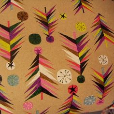 Paperchase: Christmas trees