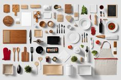 Check out Restaurant / Food - Branding Mock-Up by forgraphic™ on Creative Market
