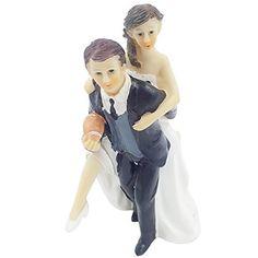 E-muse Rugby-Fan Braut und Bräutigam Hochzeits-Tortenfigur Cake Topper die Hochzeitstorte, http://www.amazon.de/dp/B00WK2ZMUY/ref=cm_sw_r_pi_awdl_x_4nGXxbD82XJCZ
