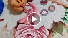 Pintando lindas rosas