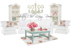 THE MAMANISTA/Shabby Chic Living Room Ideas