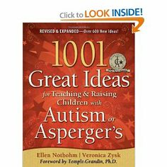 If you have a child with sensory issues, this is an excellent book. It's not just for children with Autism or Asperger's, but is filled with valuable ideas for home schooling children with a wide range of individual learning styles.