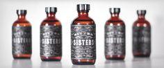Bitter Sisters Packaging