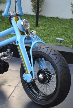 STRANGER BLOG: HONDA C70 CUSTOM FROM A.P.E. MOTORCYCLE