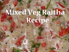 Mixed Raita | Yogurt Dish | Masru Bajji | Mixed Vegetable Curry