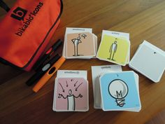 Bikablo Icons Card - 3 pens & visual language cards