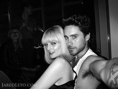 Pin for Later: Proof That Jared Leto Has Had as Many Girlfriends as He Has Hairstyles Lydia Hearst Jared Leto Long Hair, Jared Leto Young, Jared Leto Hot, Jared Leto Joker, Jared Leto Girlfriend, Jared Leto Shirtless, Lydia Hearst, Zachary Quinto, James Mcavoy
