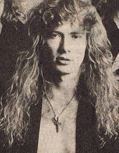 Photo of Dave Mustaine for fans of Dave Mustaine 30473889 Nick Menza, Danger Girl, Dave Mustaine, Best Guitarist, Some Jokes, Glam Metal, Skinny Guys, 80s Rock, Joan Jett
