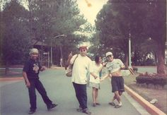 with cousins in baguio City, Philippines