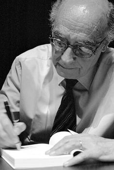 José Saramago (Writer, just plain awesome, wonderful novels) Nobel Literature, World Literature, Michel De Montaigne, Writers And Poets, Writers Write, Books To Read, My Books, Best Authors, Book Writer