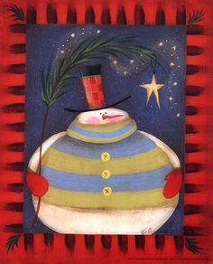 love this fat snowman