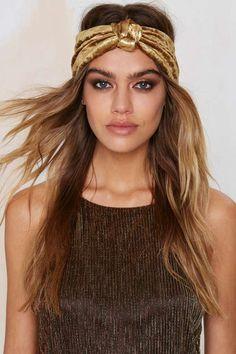 Eugenia Kim Chiara Metallic Headband