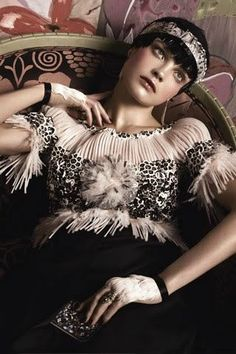 Homage to Paul Poiret, Vogue August 2012