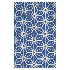 Flatweave wool rug with a geometric motif. Handmade in India.   Product: RugConstruction Material: 100% Wool...