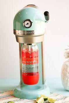Coconut Lime Spritzer | Oh So Delicioso using the KitchenAid® Sparkling Beverage Maker