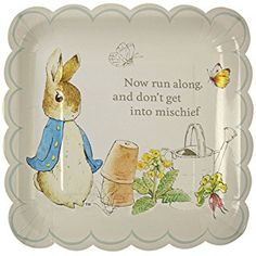 Peter Rabbit and Friends Large Party Plates - Pack of 12
