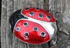 Ladybug Red, Black,