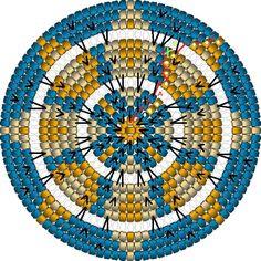 Marvelous Crochet A Shell Stitch Purse Bag Ideas. Wonderful Crochet A Shell Stitch Purse Bag Ideas. Mandala Au Crochet, Tapestry Crochet Patterns, Form Crochet, Crochet Round, Crochet Motifs, Mochila Crochet, Crochet Hat For Women, Crochet Shell Stitch, Tapestry Bag