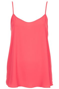 Pink Cami- pair with black blazer and jeans.. classic.