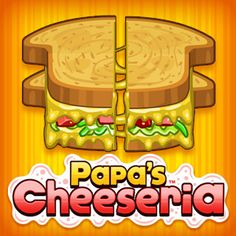 Play Papa's Cheeseria on Kizi! After being conned again by Papa Louie, you find … - online games Fun Math Games, Free Games, Games To Play, Fun Games For Girls, Super Mario Games, Candy Games, Delicious Sandwiches, Different Games, Up Game