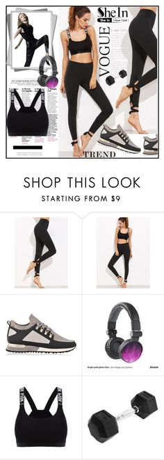 """SheIn leggings by"" by lila2510 ❤ liked on Polyvore featuring MALLET, Leggings, blackleggings and shein"