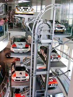 The most beautiful race cars on the track Nascar, Garage Lift, Car Garage, Audi Motorsport, Old Sports Cars, Car Museum, Audi Sport, Parking Design, Audi Cars
