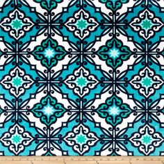 Designed for Premier Prints, this printed minky fabric has an extremely soft 3 mm pile that's perfect for  blankets, throws, baby items, and pillows. Colors include teal, navy, salt water blue, seafoam green and snow white.