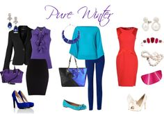 """""""Pure Winter looks"""" by sabira-amira on Polyvore"""