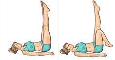 Wystarczą 3 minuty przed snem! Ćwiczenia w łożku, które wyszczuplają nogi Face And Body, Sports, Meals, Hs Sports, Sport