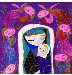 Mary + baby Jesus