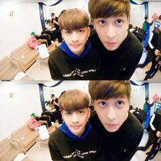 Monster Twins attack! #Yunhyeong #Chanwoo #iKON #visual #maknae #YunChan #kpop