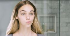To learn how to do face yoga, click here for our video tutorial that shows you four simple moves to tighten saggy skin.